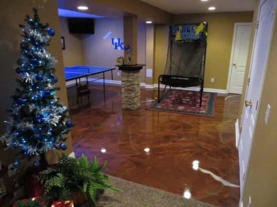 Reflective Epoxy Floor