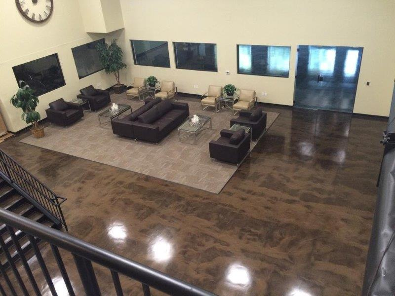 Commercial Metallic Epoxy Floor