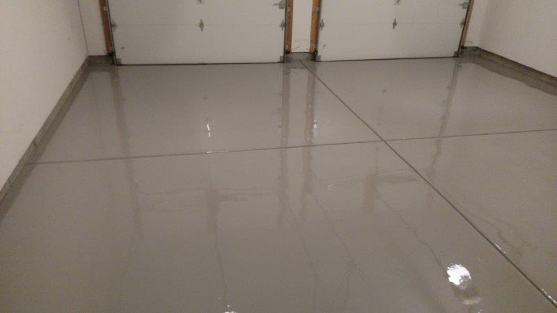Gray Epoxy Garage Floor Coating in Northern Kentucky