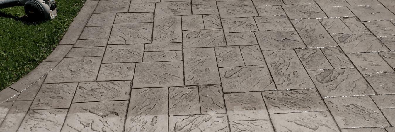 old concrete floor