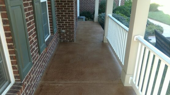 Front Patio After