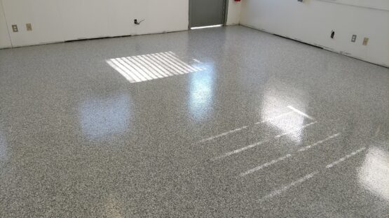Commercial Epoxy Flake Floor After