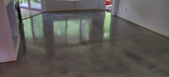 Concrete Floor After