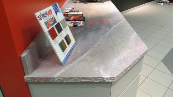 Resurfaced Concrete Countertop