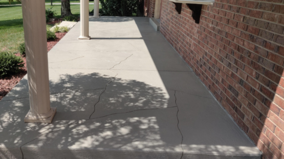 Light Oxford Grey Stained Patio