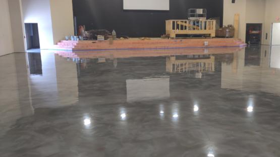 Church Metallic Epoxy Floor Coating