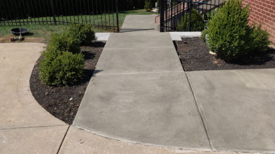 Oxford Grey Stained Walkway