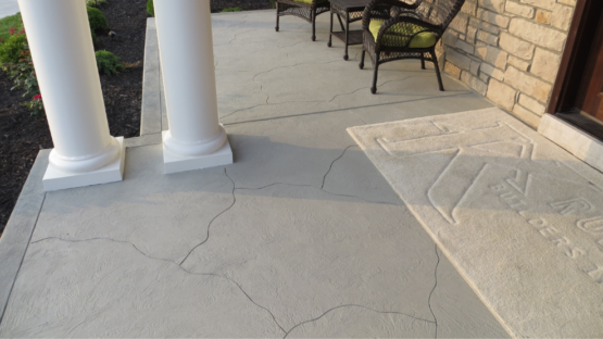 Stained & Carved Patio