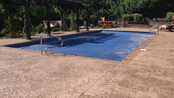 Pool Deck Cleaning and Sealing - After