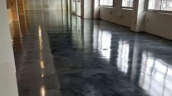 Gunmetal Epoxy Flooring