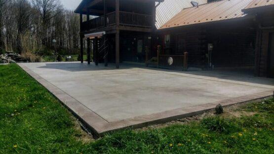 Concrete Patio After