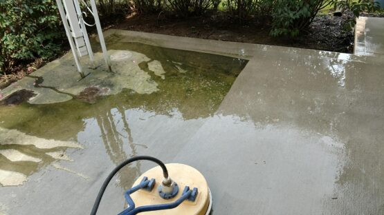 Cleaning Concrete Patio