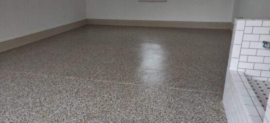 Flake Floor After