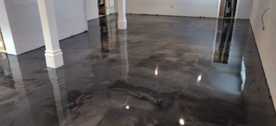 Metallic Epoxy Floor After