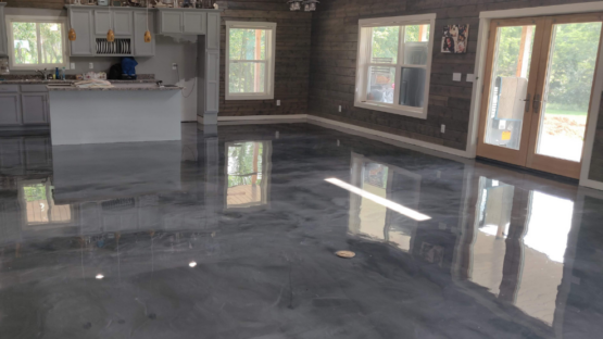Pole Barn Epoxy Floor