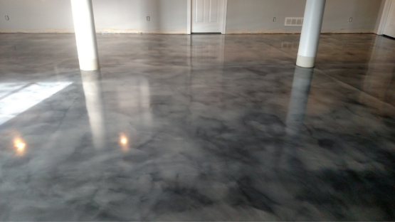 Walk in the Clouds Epoxy Floor