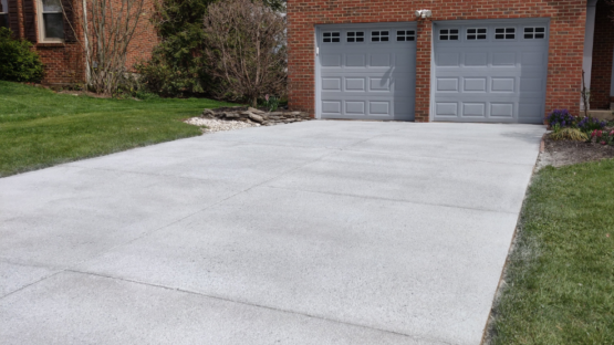 Resurfaced Driveway